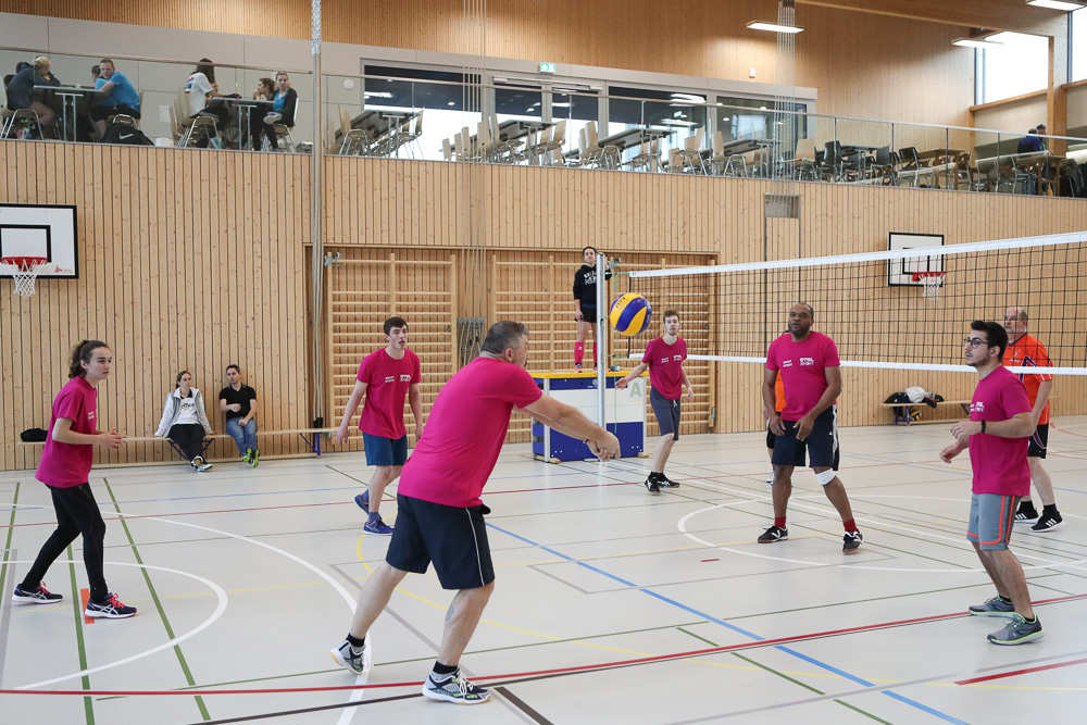 Tournoi de volley à Moudon