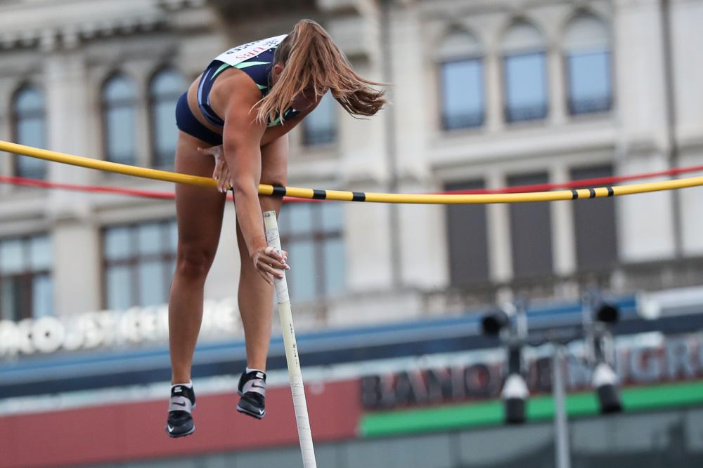 Athletissima - City Event 2020 - Angelica Moser